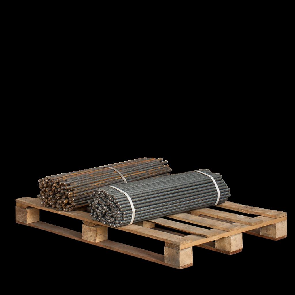 Ściągi szalunkowe DW15 na palecie