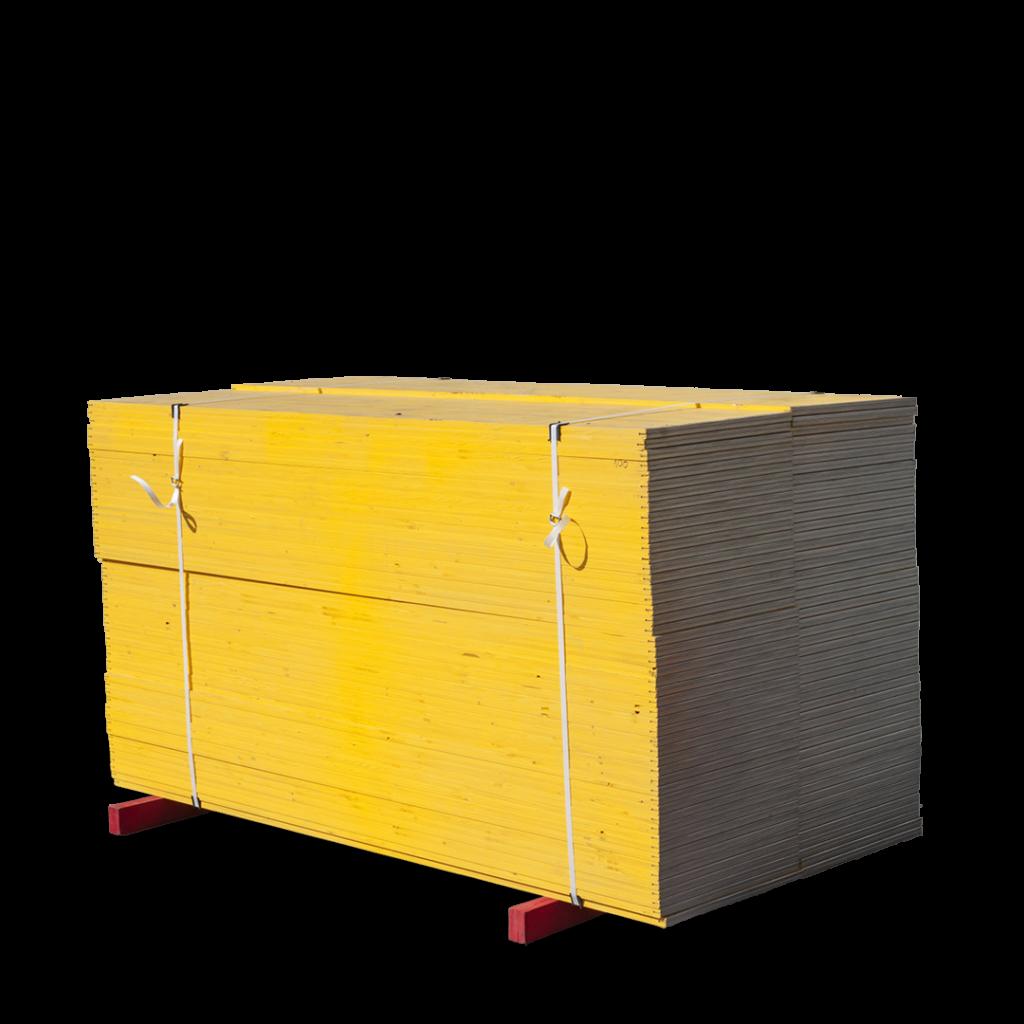 Trójwarstwowa drewniana płyta szalunkowa (okuta)
