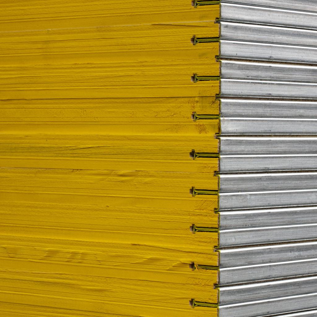 Trójwarstwowa drewniana płyta szalunkowa (okuta) widok w przybliżeniu
