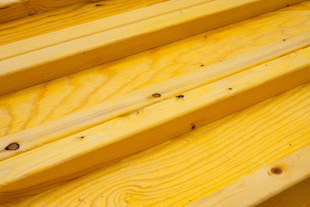 Dźwigar drewniany FW (nieokuty) widok z góry w przybliżeniu
